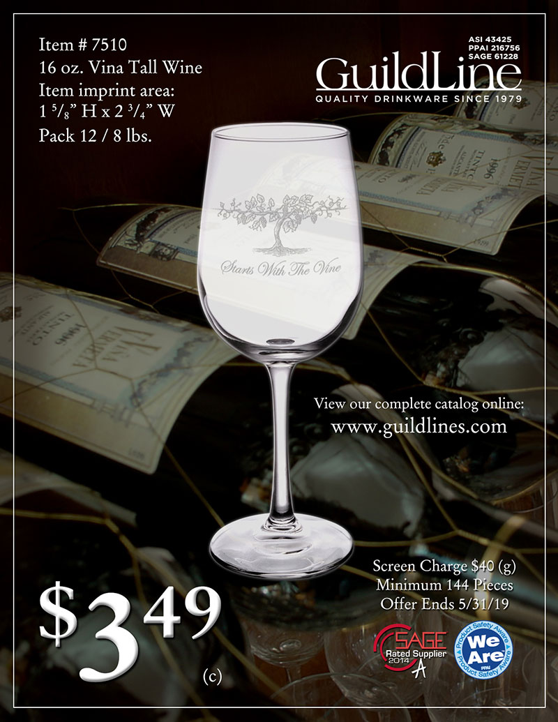 Guildline_7510_Vina_Tall_Wine_Flyer